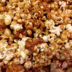 Caramel Pretzel Nut Popcorn Recipe