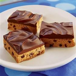 No-Bake Chocolate Peanut Butter Bars Recipe