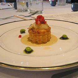Photo of Scallops in Pastry with Lobster Sauce by Trish Clifton Wiltshire