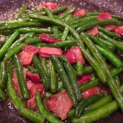 Airport Bob's Green Beans Recipe