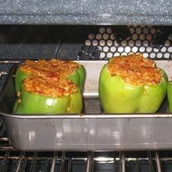 Cajun Style Stuffed Peppers