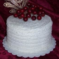 Snow Berries Cake