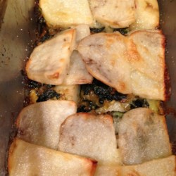 Curry Kale and Potato Galette Recipe