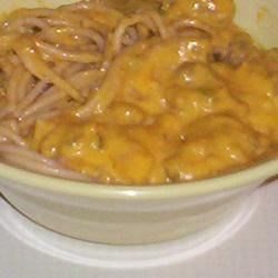 Sausage Linguine with Ginger Pumpkin Sauce Recipe