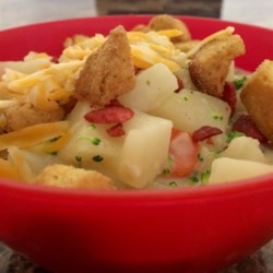 Old-Fashioned Potato Soup Recipe