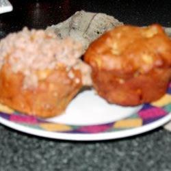 Pumpkin Aple Streusel Muffins