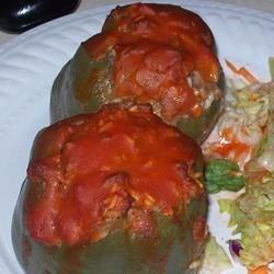 Stuffed Green Peppers I
