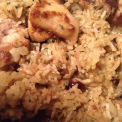 Bombay Chicken and Rice Recipe