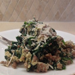 Joe's Special Beef and Spinach Scramble Recipe