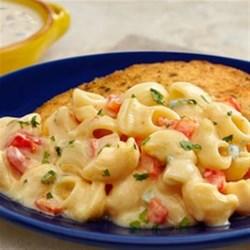 Creamy Poblano Mac & Cheese