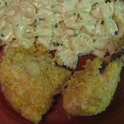Crispy Herb Baked Chicken