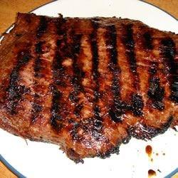 Photo of Barbequed Marinated Flank Steak by Martha Dibblee