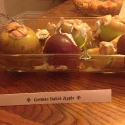 Real German Baked Apples Recipe