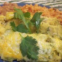 Photo of Sour Cream Chicken Enchiladas by Brenda