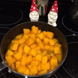 Citrus Glazed Banana Squash Recipe