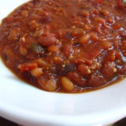 Easy Slow Cooker Baked Beans Recipe