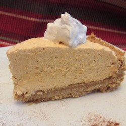 Whipped Pumpkin Pie Recipe