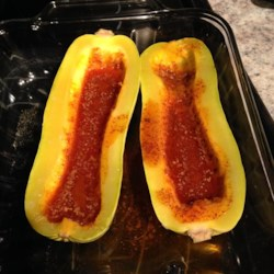 Baked Delicata Squash with Lime Butter Recipe