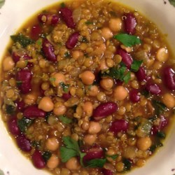 Moroccan Harira (Bean Soup) Recipe