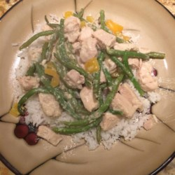Divine Chicken with Green Beans Recipe