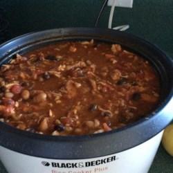 Mary's Chicken and Black Bean Chili Recipe