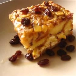 Apple Raisin French Toast Strata Recipe