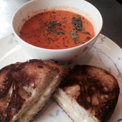 Creamy Tomato-Basil Soup Recipe