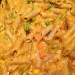 Cheesy Butternut Squash Pasta Sauce Recipe
