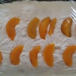 Peach Filled Cake Recipe