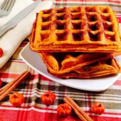 Perfect Pumpkin Spice Waffles Recipe - Allrecipes.com