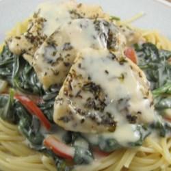Light Tuscan Garlic Chicken Recipe