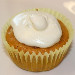 White Chocolate Chip Pumpkin Cupcakes