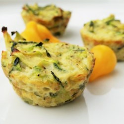 Zucchini Scallion Frittata Cups Recipe