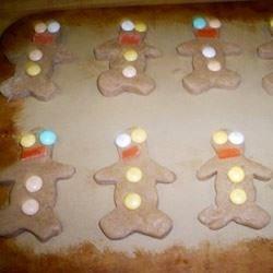 Storybook Gingerbread Men---Before