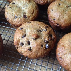 Easy Whole Wheat Banana Muffins Recipe