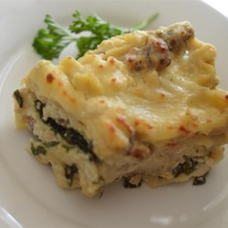 Slow Cooker Spinach and Crab Lasagna  Recipe