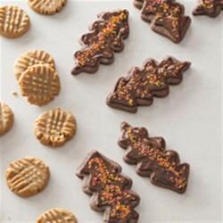 Chocolate Leaf Cookies