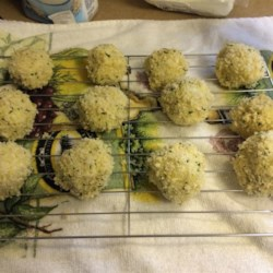 Goat Cheese Risotto Balls