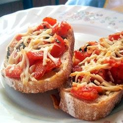 Photo of Ali's Amazing Bruschetta by Alison