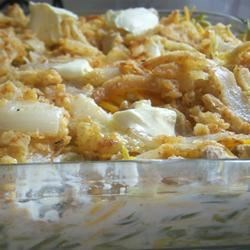Twisted Green Bean Casserole
