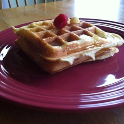 Buttermilk Prairie Waffles Recipe