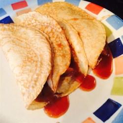 Yummy Apple Cinnamon Crepes Recipe