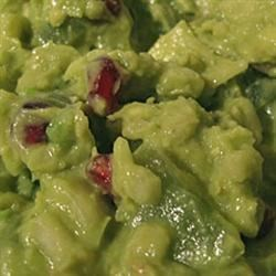 Holiday Guacamole Recipe