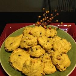 Pumpkin Chocolate Chip Cookies I Recipe