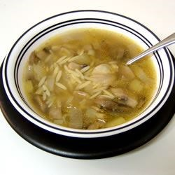 Mushroom and Leek Soup Recipe