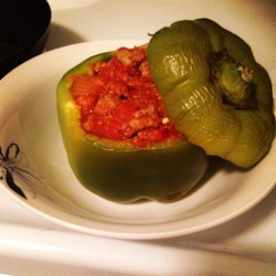 Simple and Easy Stuffed Peppers Recipe