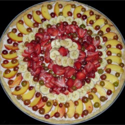 Killer Fruit Pizza Double-Sized!