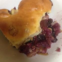 Apple-Blueberry Buckle Recipe