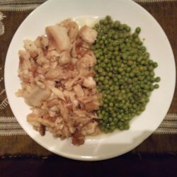 Fish and Brewis with Scruncheons Recipe