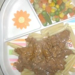 Easy Ground Beef Stroganoff Recipe